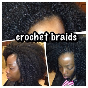crochet braids w free hair crochet braids are a healthy